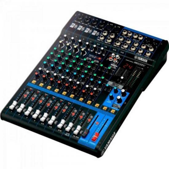 Mesa de Som Analógica 12 Canais MG12XU Preta YAMAHA  - Audio Video & cia