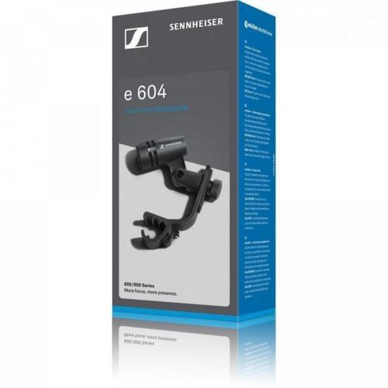 Microfone Dinâmico Cardióide E604 SENNHEISER  - Audio Video & cia
