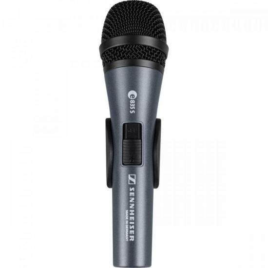 Microfone Dinâmico Cardióide E835-S SENNHEISER  - Audio Video & cia