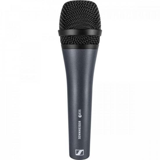 Microfone Dinâmico Cardióide E835 SENNHEISER  - Audio Video & cia