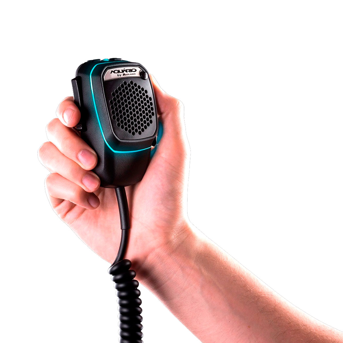 MICROFONE PX DUAL MIKE 4 PINOS MK-0204  - Audio Video & cia