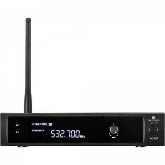 Microfone sem Fio de Mão UHF HSF-101 HARMONICS  - Audio Video & cia