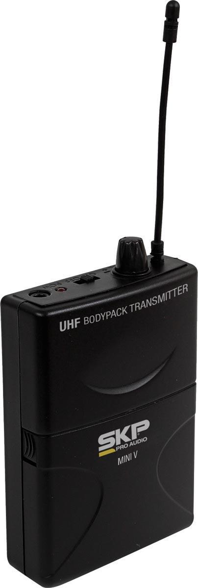 MICROFONE SEM FIO UHF HEADSET MINI-V  - Audio Video & cia