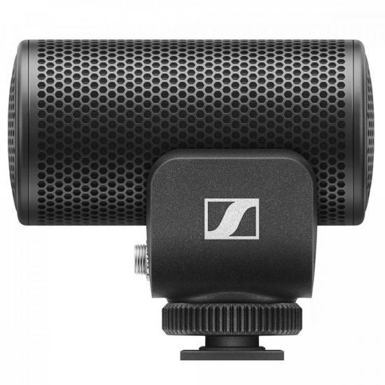 Microfone Supercardioide MKE200 Preto SENNHEISER  - Audio Video & cia