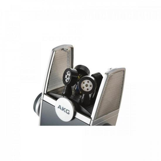 Microfone USB Multimodo Ultra-HD Lyra AKG  - Audio Video & cia