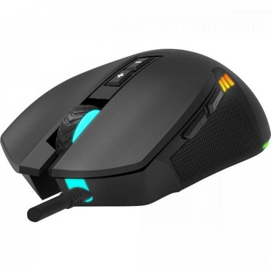 Mouse Gamer VICKERS RGB 4200DPI Preto FORTREK G  - Audio Video & cia