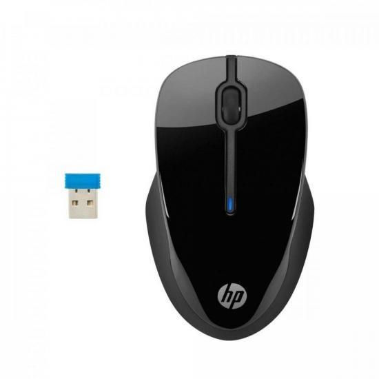 Mouse Sem Fio HP 250 Preto HP  - Audio Video & cia