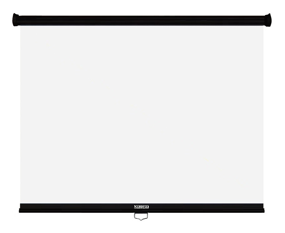 Nardelli NR-001 Tela retratil standart 1,5 x 1,5 mt  - Audio Video & cia