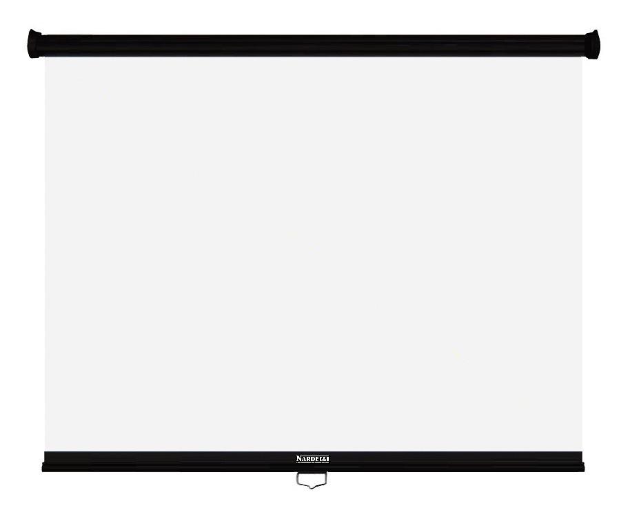Nardelli NR-005 Tela retrátil standart 2 x 2 mt  - Audio Video & cia