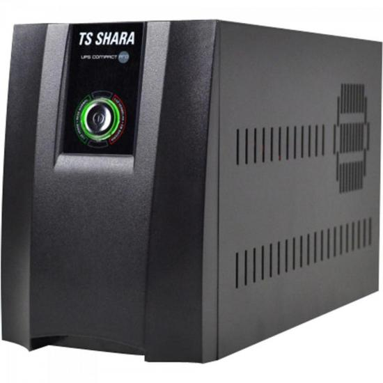 Nobreak 1400VA Power Ups 5A 2BS2BA Preto TS SHARA  - Audio Video & cia
