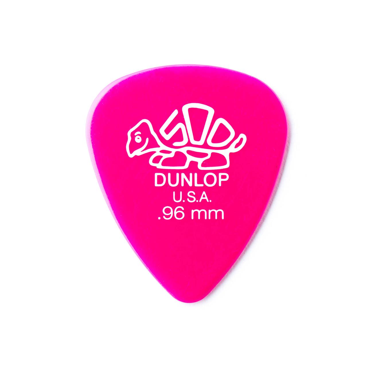 Palheta Delrin 500 0,96mm Pct C/12  41p.96 Dunlop  - Audio Video & cia