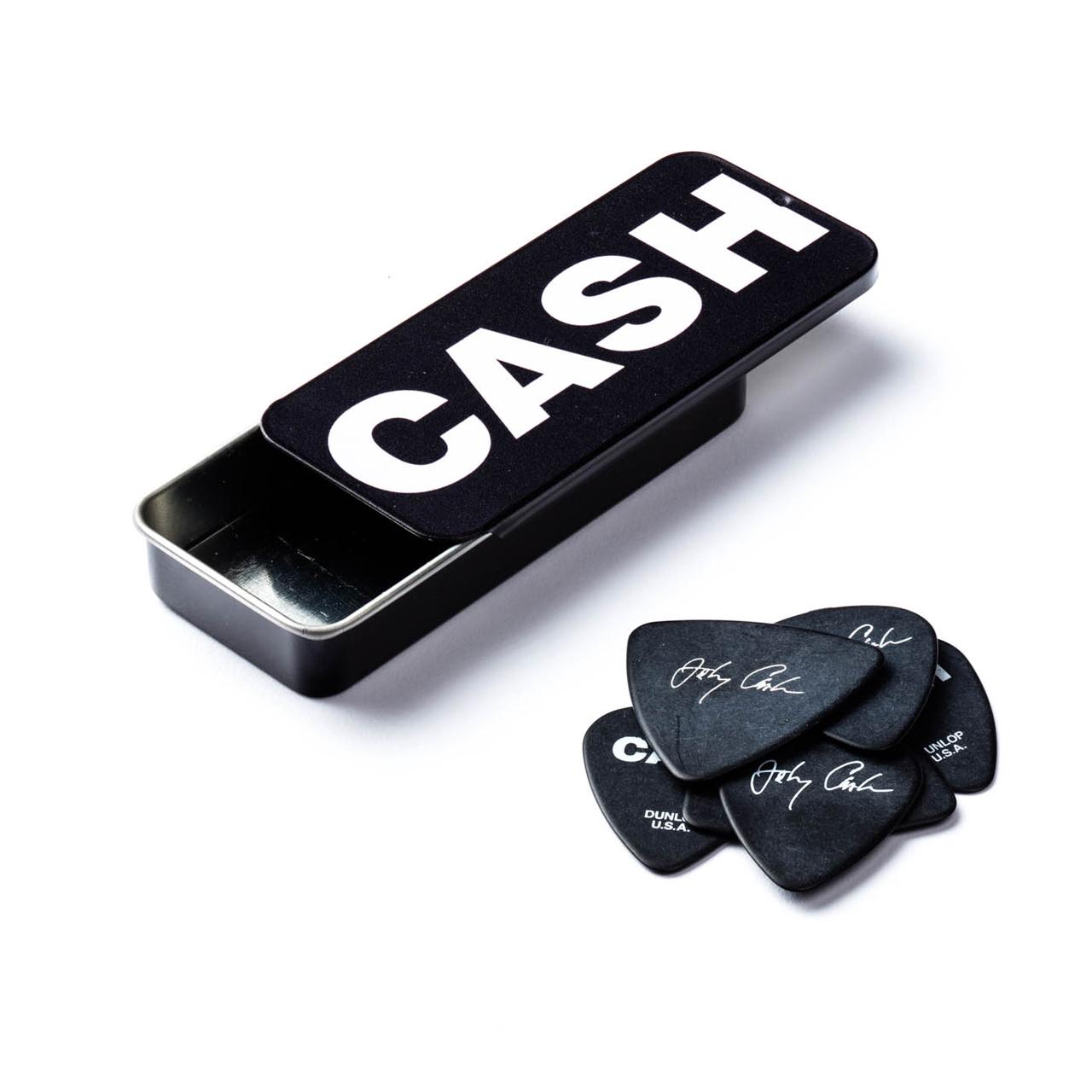 Palheta Media Johnny Cash Bold Cx C/6 Jcpt04h Dunlop  - Audio Video & cia