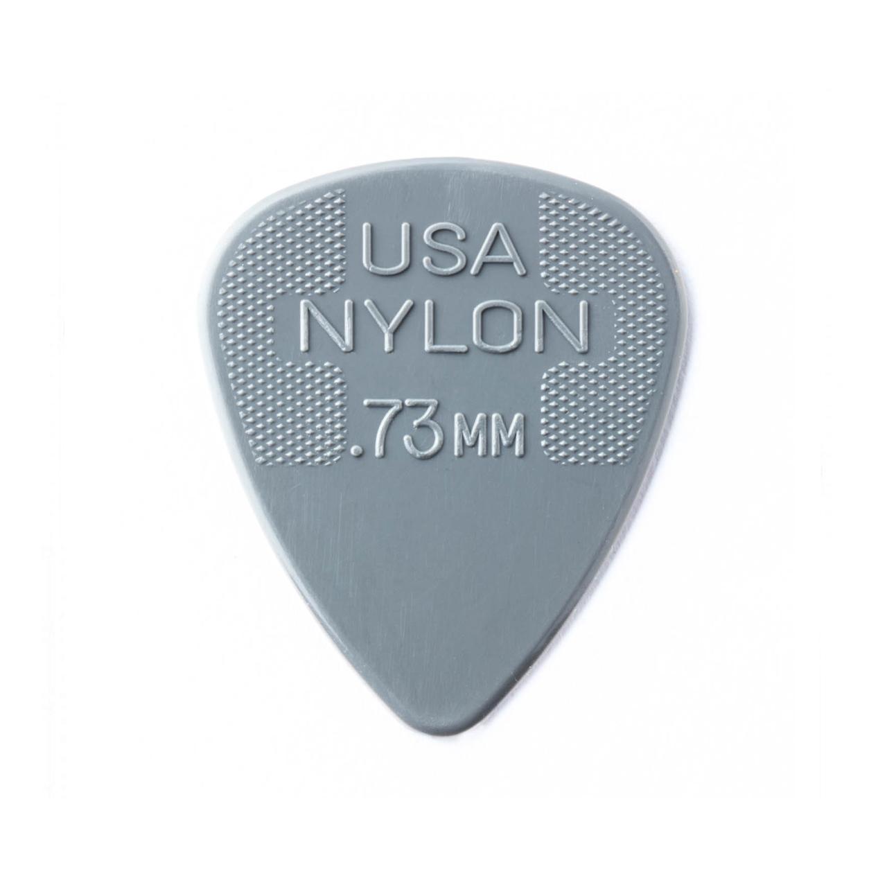 Palheta Nylon Standard 0,73mm Cinza Pct C/72 44r.73 Dunlop  - Audio Video & cia