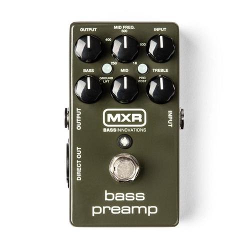 Pedal Mxr Bass Preamp M81 Dunlop  - Audio Video & cia