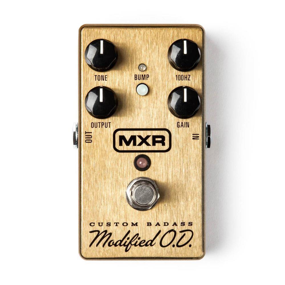 Pedal Mxr Custom Badass Modified Od M77 Dunlop  - Audio Video & cia