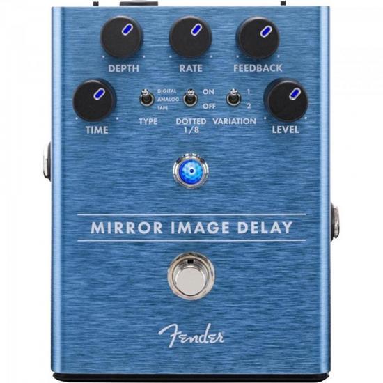 Pedal Para Guitarra Mirror Image Delay FENDER  - Audio Video & cia