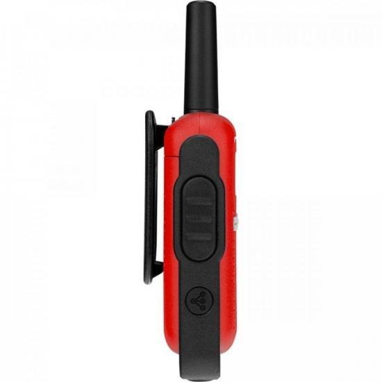 Rádio Comunicador Talkabout 25km T110BR Vermelho MOTOROLA - PAR / 2  - Audio Video & cia