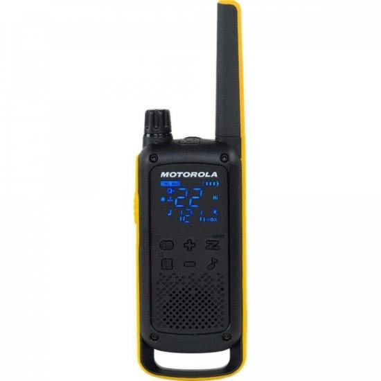Rádio Comunicador Talkabout 35km T470BR Amarelo/Preto MOTOROLA - PAR / 2  - Audio Video & cia