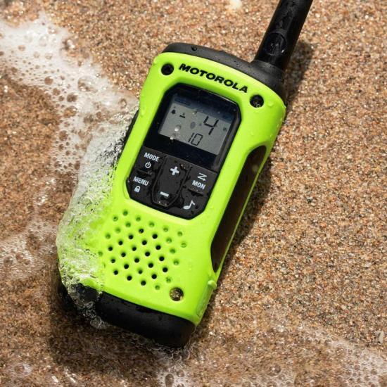Radio Comunicador Talkabout 35km T600BR Verde MOTOROLA - PAR / 2  - Audio Video & cia
