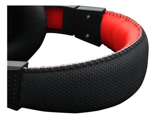 Redragon Ares H120 Fone De Ouvido Gamer Preto E Vermelho  - Audio Video & cia
