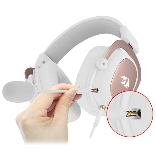 Redragon Zeus 2 H510W Headset 7.1 Gamer Branco  - Audio Video & cia