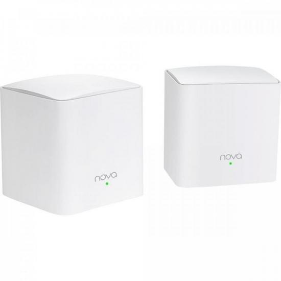 Roteador Wi-Fi Mesh com 2 Gigabit Dual Band MW5C Branco TENDA  - Audio Video & cia