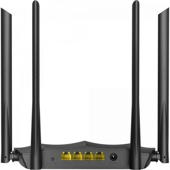 Roteador Wireless Gigabit 1200Mbps Dual Band AC8 Preto TENDA  - Audio Video & cia
