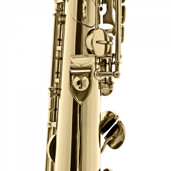 Saxofone Soprano Reto Bb HST410L Laqueado HARMONICS  - Audio Video & cia