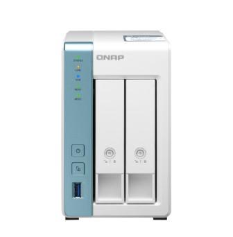 SERVIDOR DE DADOS NAS ALPINE QUAD-CORE 1.7GHZ - 4GB - 2 BAIAS SEM DISCO - TS-231P3-4G  - Audio Video & cia