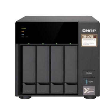 SERVIDOR DE DADOS NAS AMD QUAD-CORE 2.1GHZ - 4GB - 4 BAIAS SEM DISCO - TS-473-4G-US  - Audio Video & cia