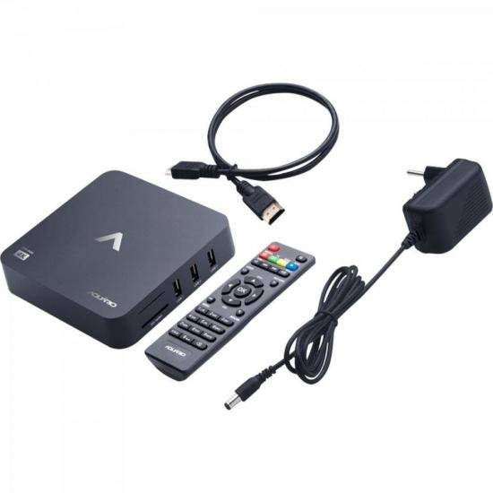 Smart TV Box Android STV-2000 AQUARIO  - Audio Video & cia