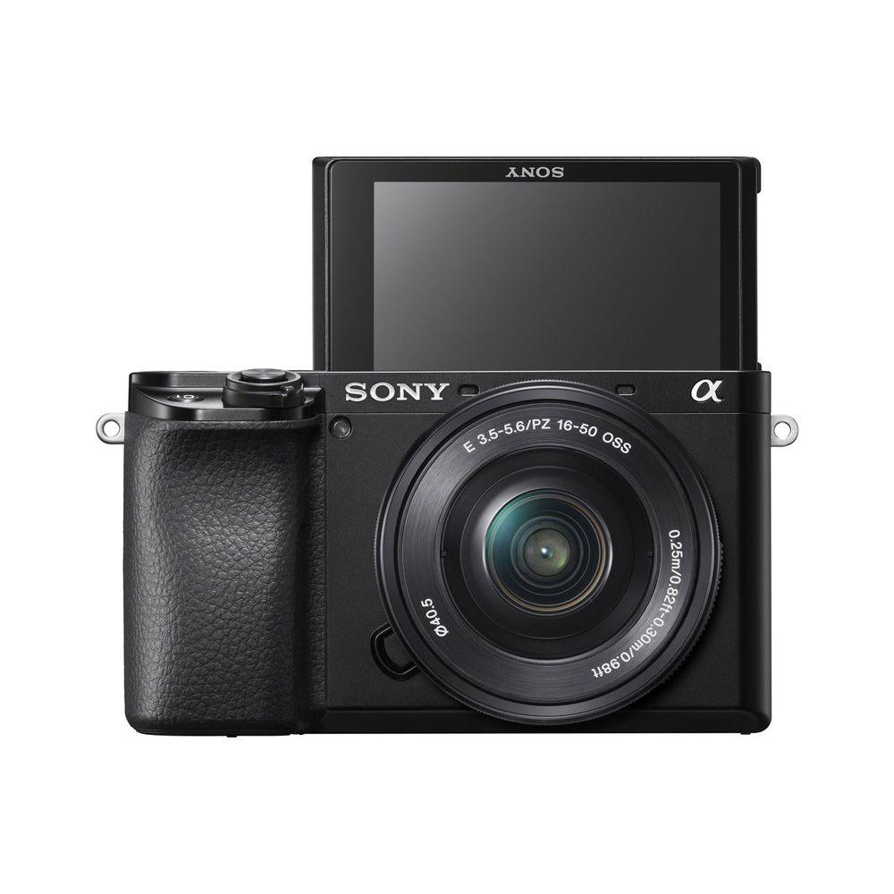 Sony Alpha 6100 kit Camera Digital Mirroless com Lente 16-50mm Oss  - Audio Video & cia