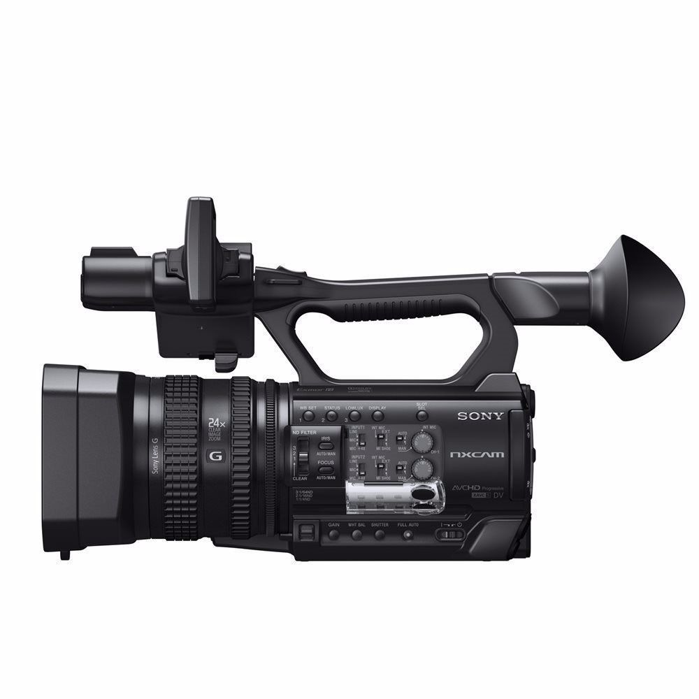 Sony HXR NX100 Filmadora Nxcam  - Audio Video & cia