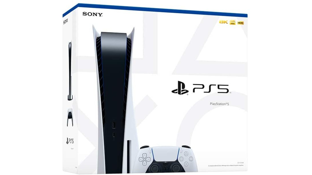 Sony PlayStation 5 Console 8K CFI-1015A 825GB SSD BiVolt  - Audio Video & cia