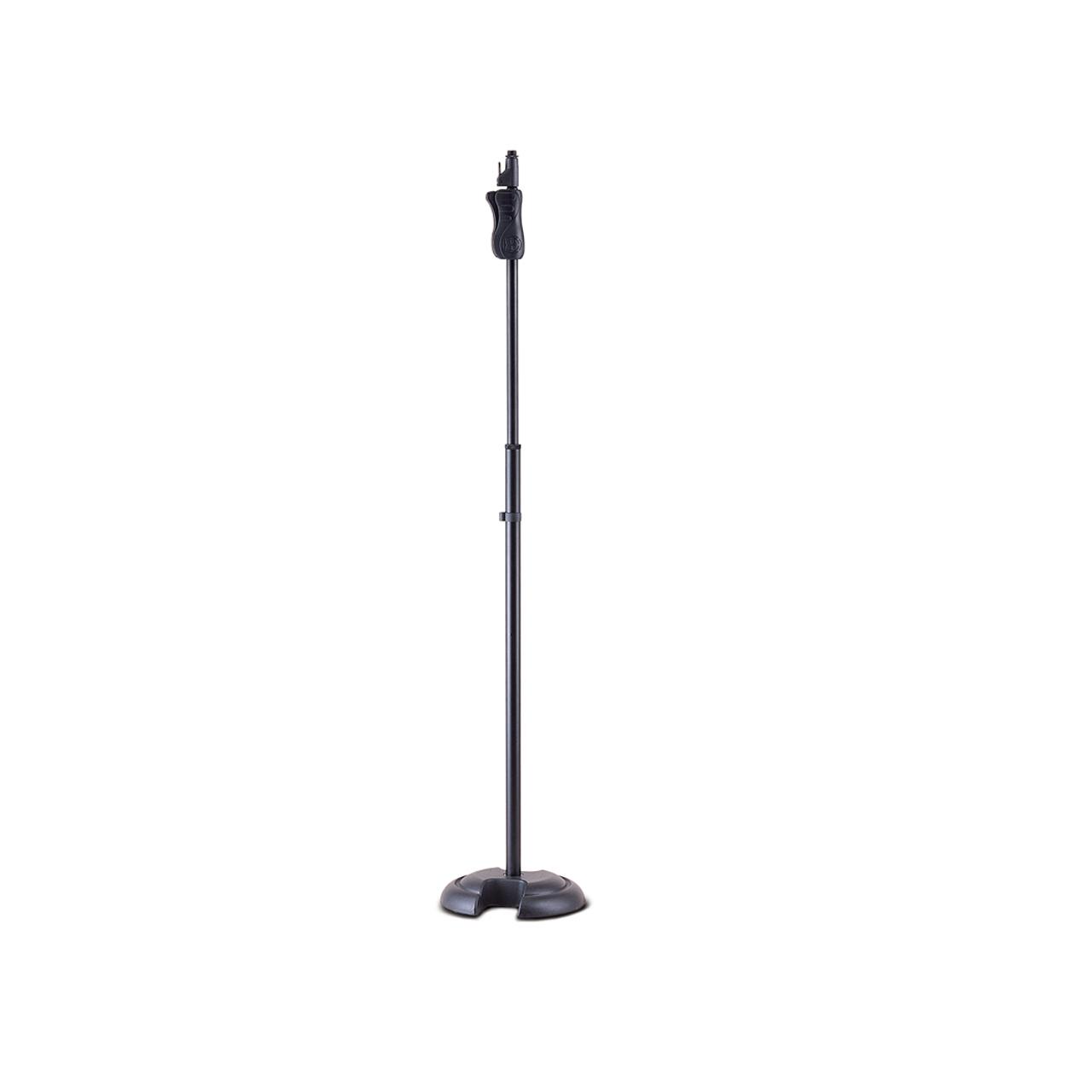 Suporte Pedestal C/base Redonda P/ Microfone Ms201b Hercules  - Audio Video & cia