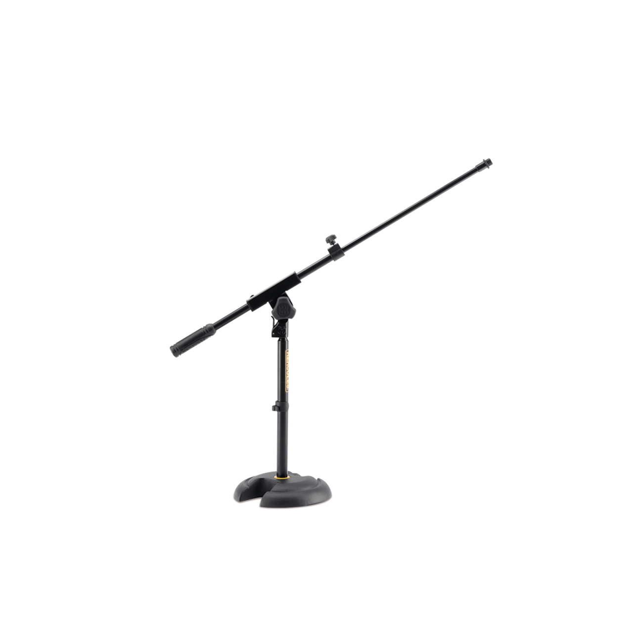 Suporte Pedestal Mini Girafa C/base Redonda P/ Microfone Ms120b Hercules  - Audio Video & cia