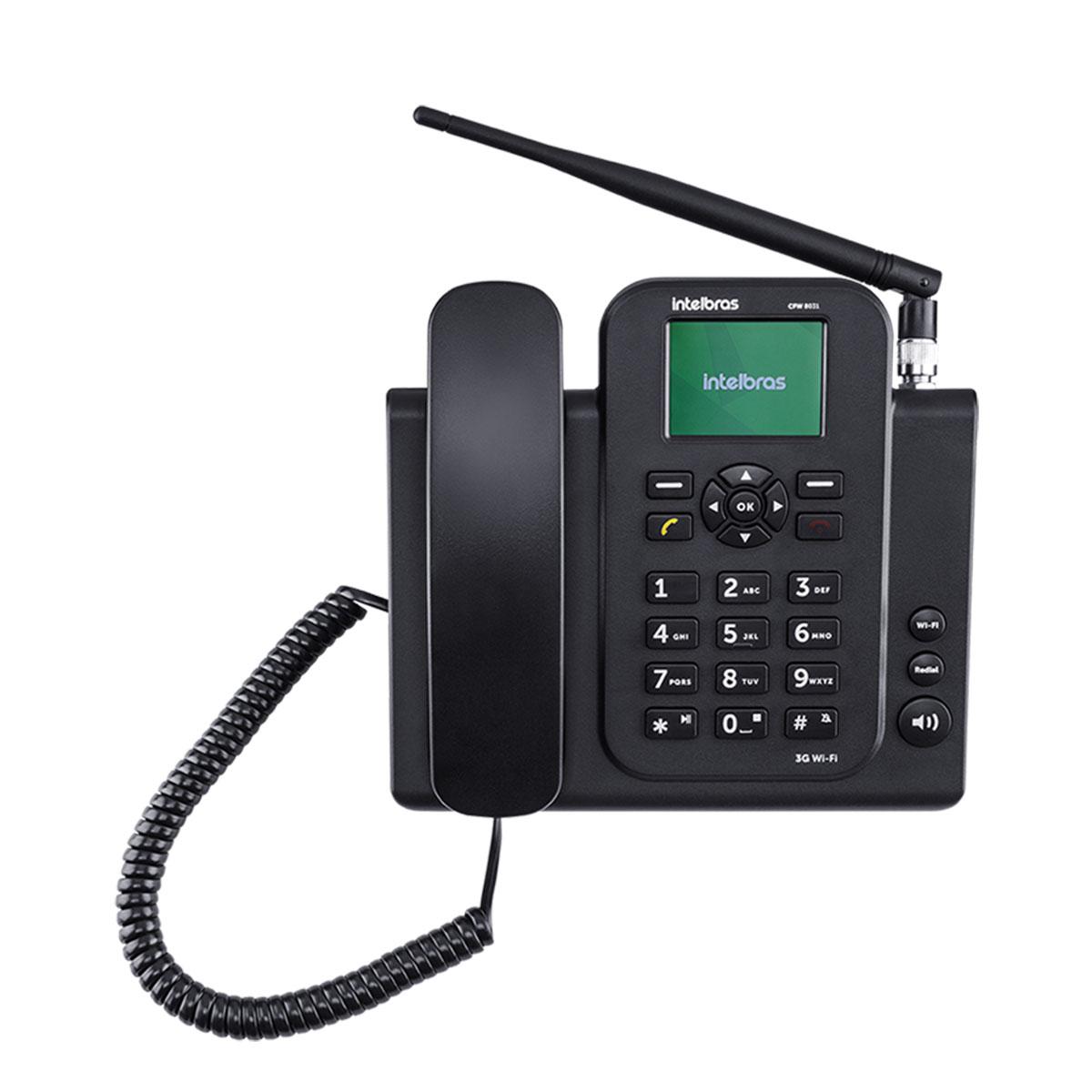 TELEFONE CELULAR FIXO 3G WIFI CFW 8031 4118031  - Audio Video & cia