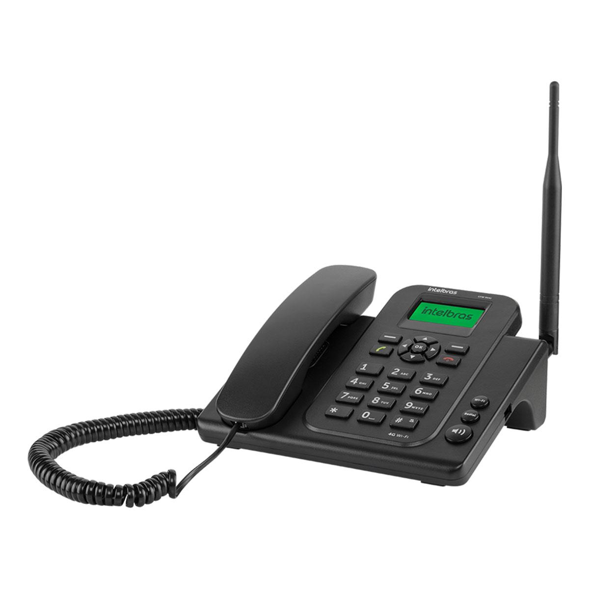 TELEFONE CELULAR FIXO 4G WI-FI CFW 9041 4119041  - Audio Video & cia
