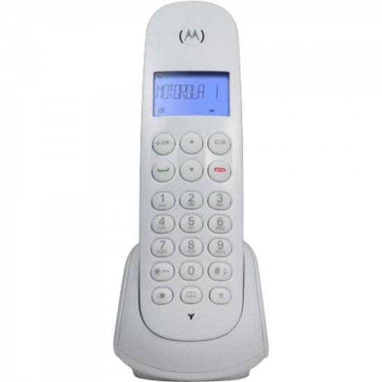 Telefone s/ Fio Digital MOTO700W Branco MOTOROLA  - Audio Video & cia