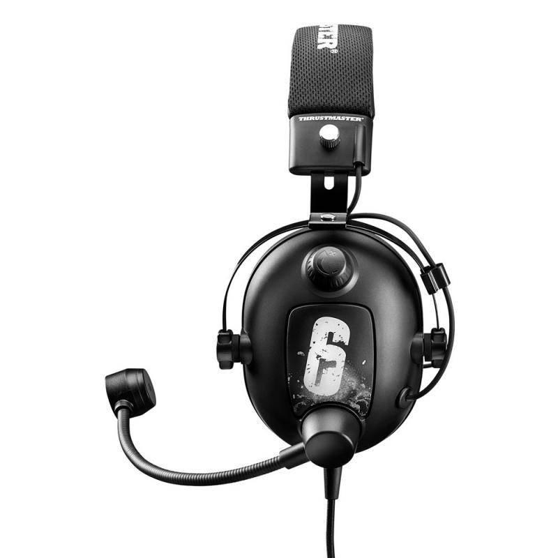 Thrustmaster T.Assault Six Headset Gamer  - Audio Video & cia