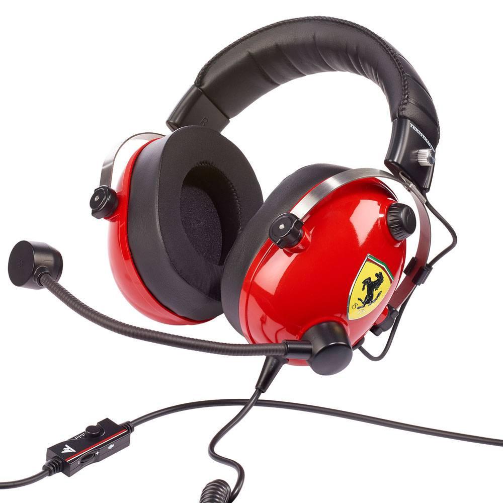 Thrustmaster T.Racing Scuderia Ferrari Headset Gamer  - Audio Video & cia