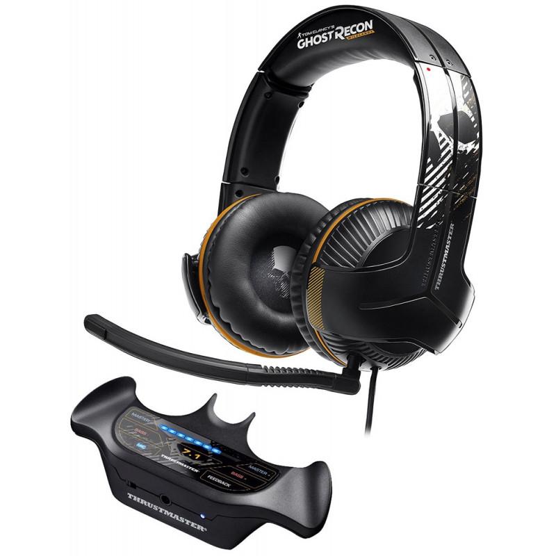 Thrustmaster Y-350P Headset Gamer 7.1 Ghost Recon Wildlands Edition + Y Sound Commander Preto  - Audio Video & cia