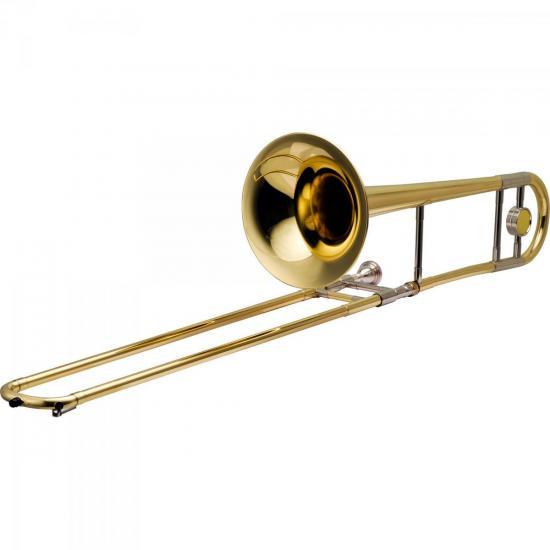 Trombone de Vara Bb HSL-700L Laqueado HARMONICS  - Audio Video & cia