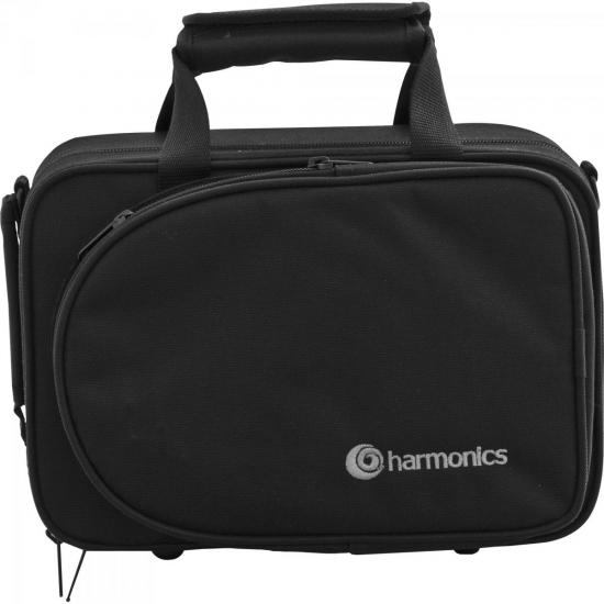 Trompete Pocket Bb HMT-500L Laqueado HARMONICS  - Audio Video & cia