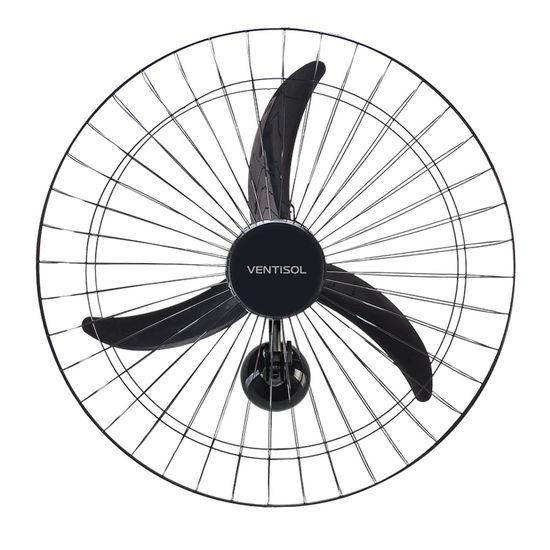 Ventilador de Parede 60cm 127V NEW PREMIUM Preto VENTISOL  - Audio Video & cia