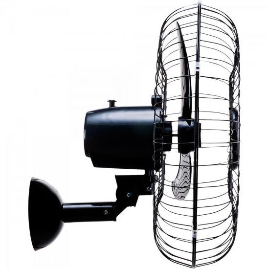 Ventilador de Parede Oscilante 60cm Bivolt AÇO Preto VENTISOL  - Audio Video & cia