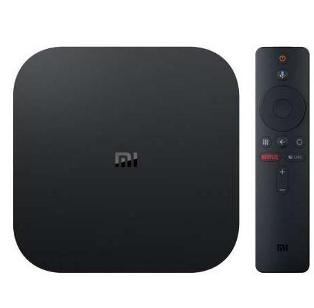 Mi Box s M19E Receptor FTA Android 8.1 4K Wifi Bivolt Preto  - Audio Video & cia