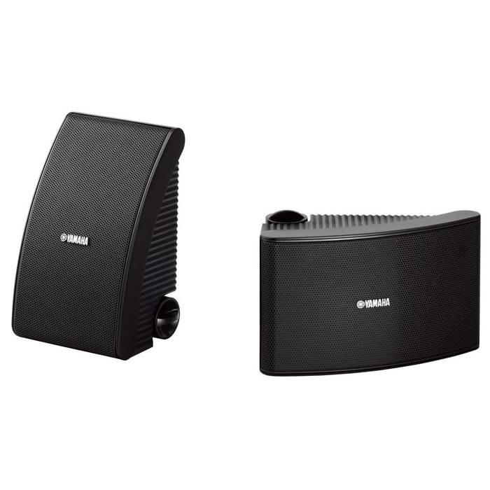 Yamaha NS-AW392BL Caixa Acustica Outdoor 120W Preta  - Audio Video & cia