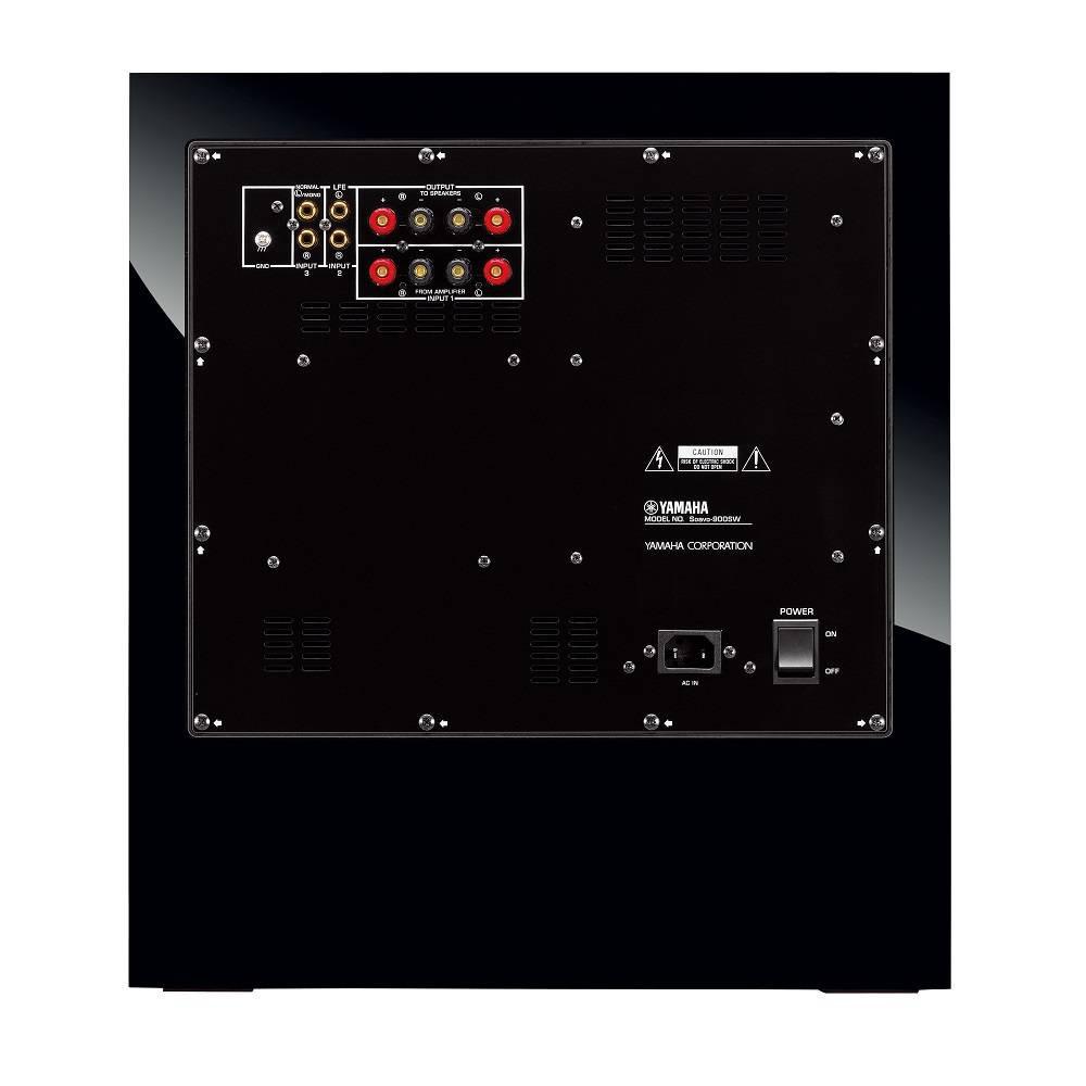 Yamaha NS-SW901 Subwoofer ativo de 10 pol 600W  - Audio Video & cia