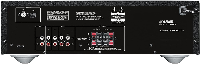 Yamaha R-S202 Receiver Stereo A/B Bluetooth 100W Bi-volt  - Audio Video & cia
